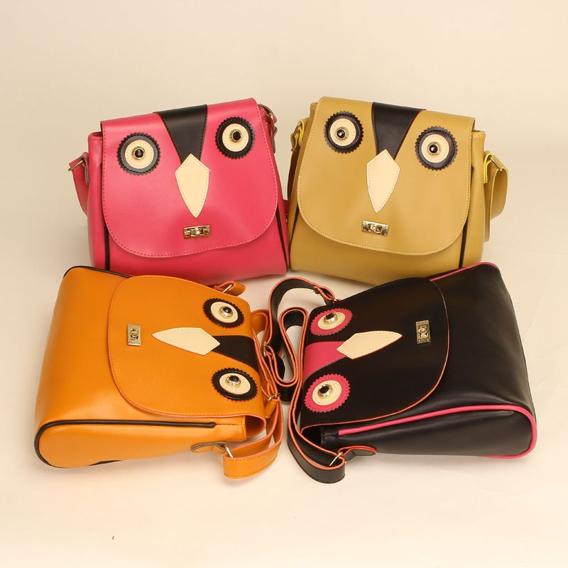 2013 the new free shipping 2012 b328 three-dimensional cat bags messenger bag brief messenger bag briefcase  DXH612 $45.28
