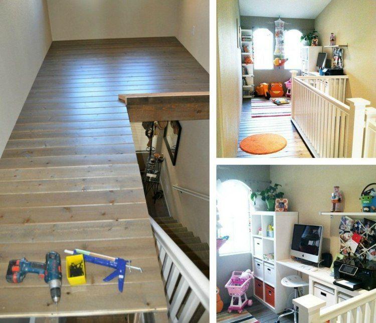 Escalier gain de place et id es grande hauteur sous - Hauteur sous plafond standard ...