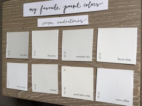 My Favorite Paint Colors #swisscoffeebenjaminmoore