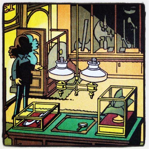 Stiltje i antikboden. – Franka #1, Brottsmuséet. 1980