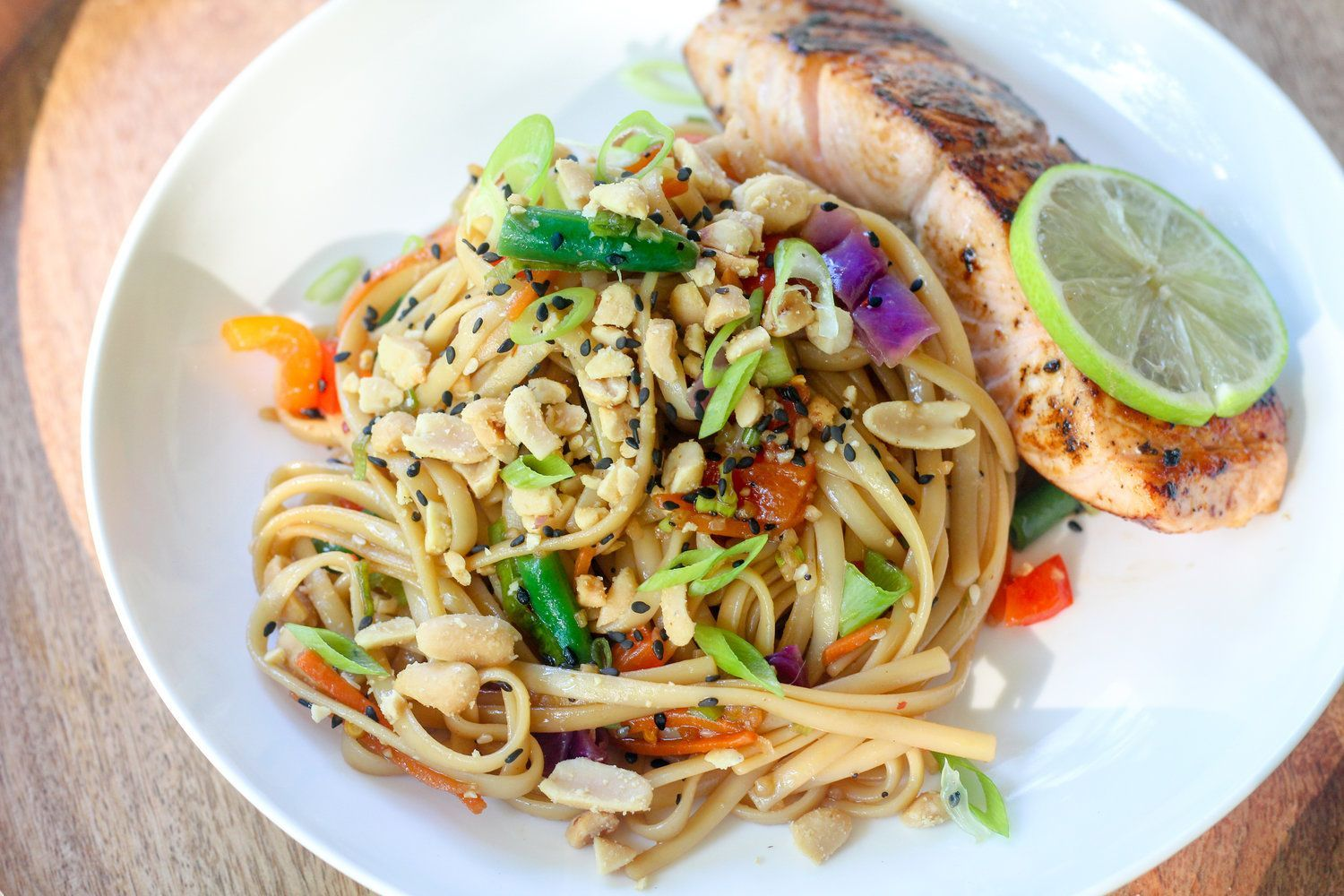 Sesame Noodles With Seared Salmon — Chef Swetha #searedsalmonrecipes Sesame Noodles With Seared Salmon — Chef Swetha #searedsalmonrecipes