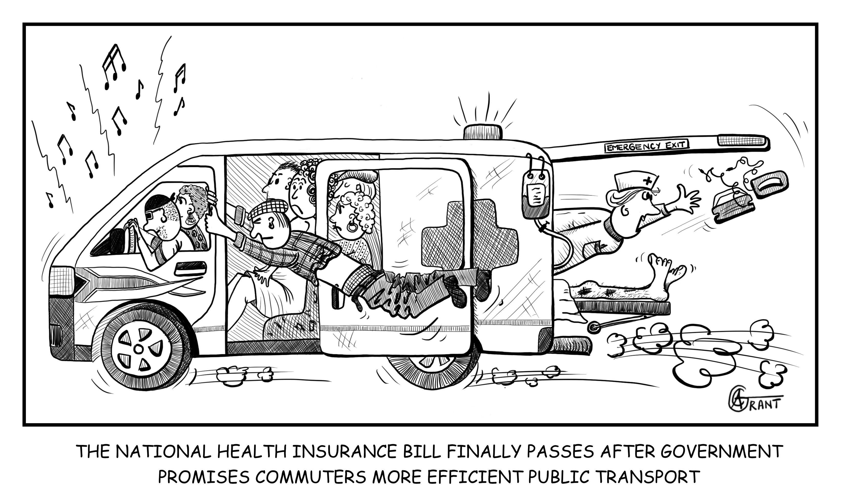 My satirical take on the National Health Insurance Bill.