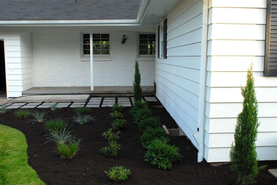 {Progress} Exterior Paint + Landscaping