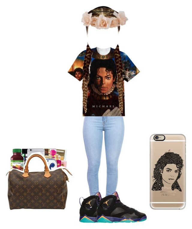 """Rip micheal"" by queen31204 ❤ liked on Polyvore"