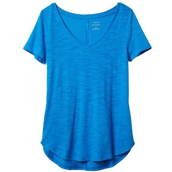on feet images of top-rated official new cheap Banana Republic Women Factory Malibu V Neck Tee ($15 ...