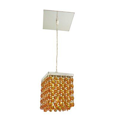 Classic Lighting 16101 1 Light Bedazzle Large Pendant