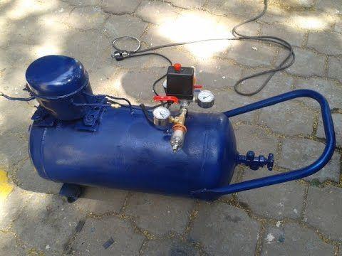 compresor de aire casero. compresor casero - youtube de aire r
