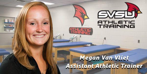 Megan Van Vliet Named Assistant Athletic Trainer