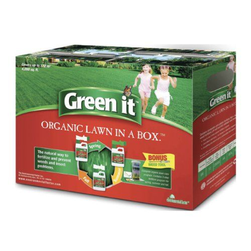 Green It Organic Lawn Care Fertilizer In A Box Read More Reviews Of The
