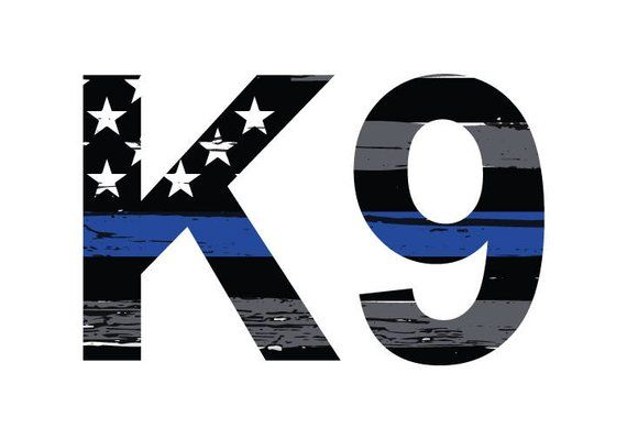 3M Graphics K9 Dog Police Support Fallen Vinyl Car Truck Motorcycle Decal Sticke