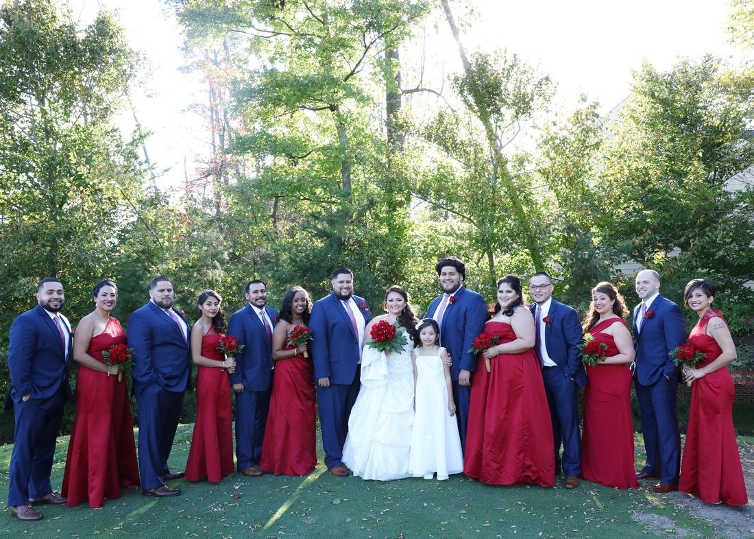 red white and blue wedding in 2019 | Blue