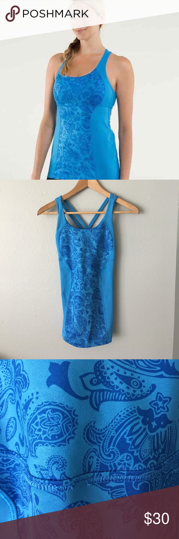 Lululemon Energy Tank Preloved condition with no major flaws. Please see all photos for accurate description of condition. Happy to answer any questions - please ask before purchasing. lululemon athletica Tops