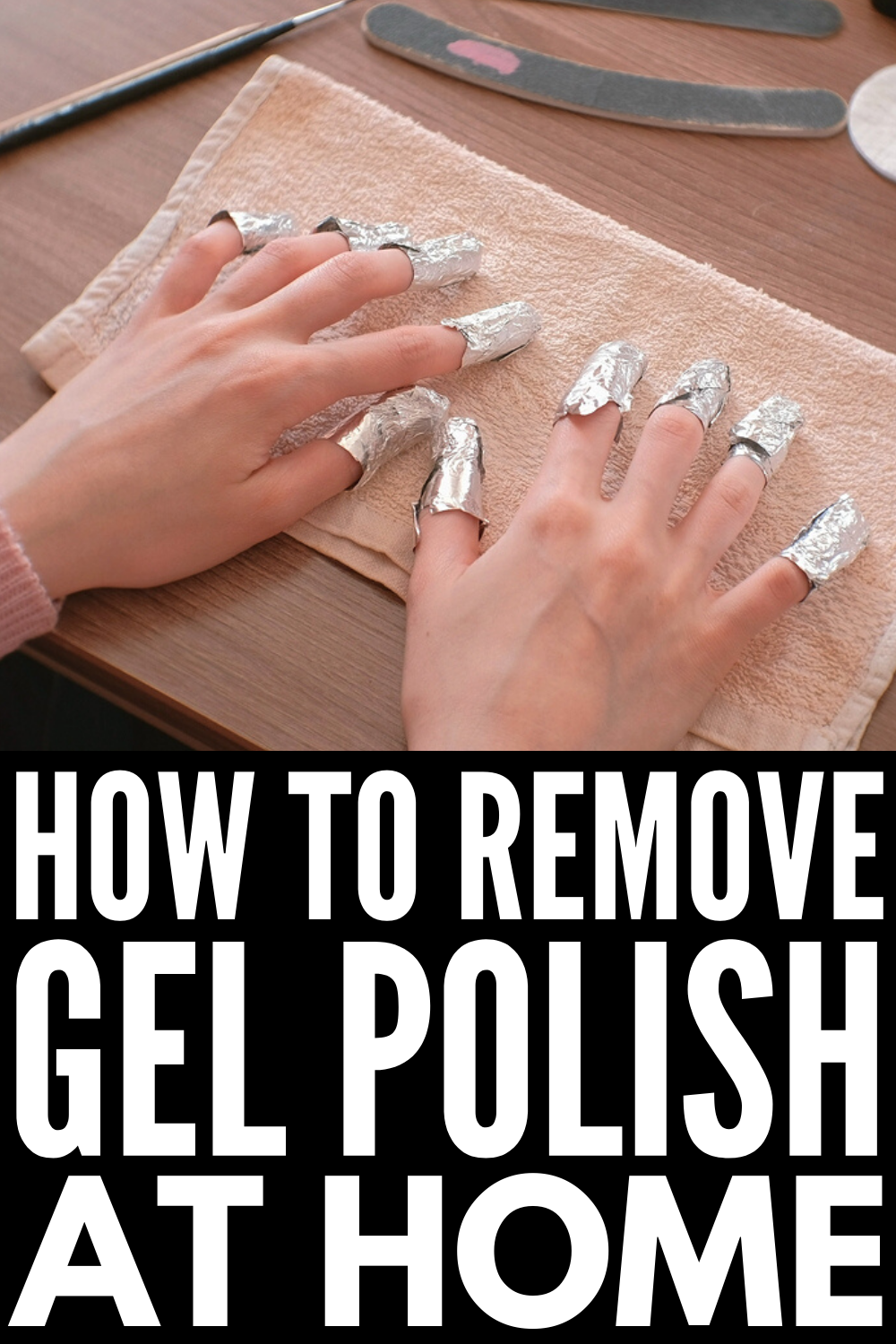 How To Remove Gel Polish At Home 5 Methods That Work Remove Gel Polish Gel Polish Gel Toe Nails