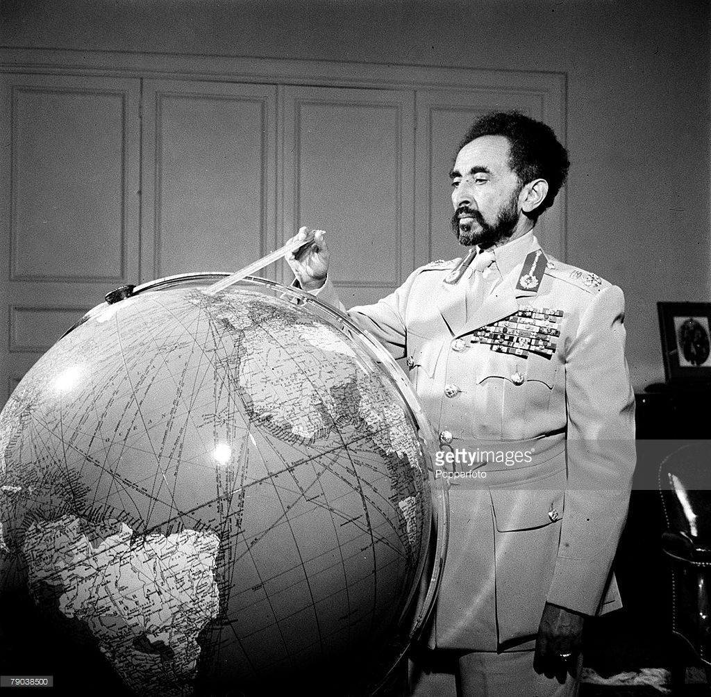 His Imperial Majesty Emperor Haile Selassie I Of Ethiopia On Haile Selassie Ethiopia Emperor