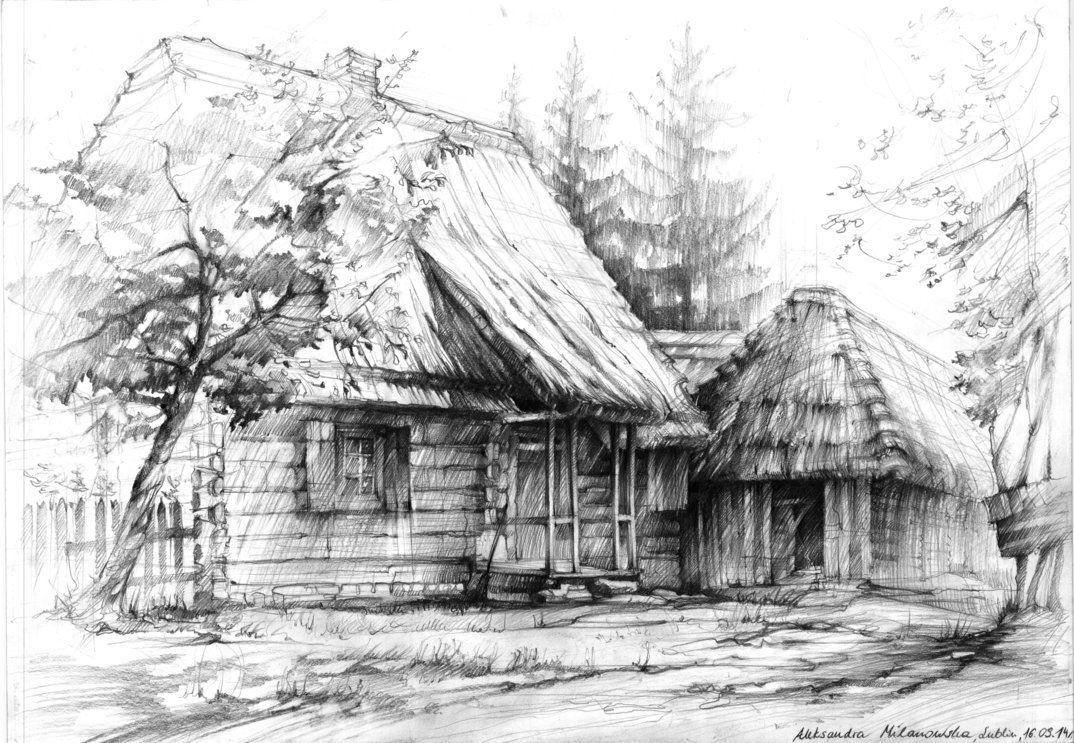 6B pencil on paper 50x70cm ; plenair drawing