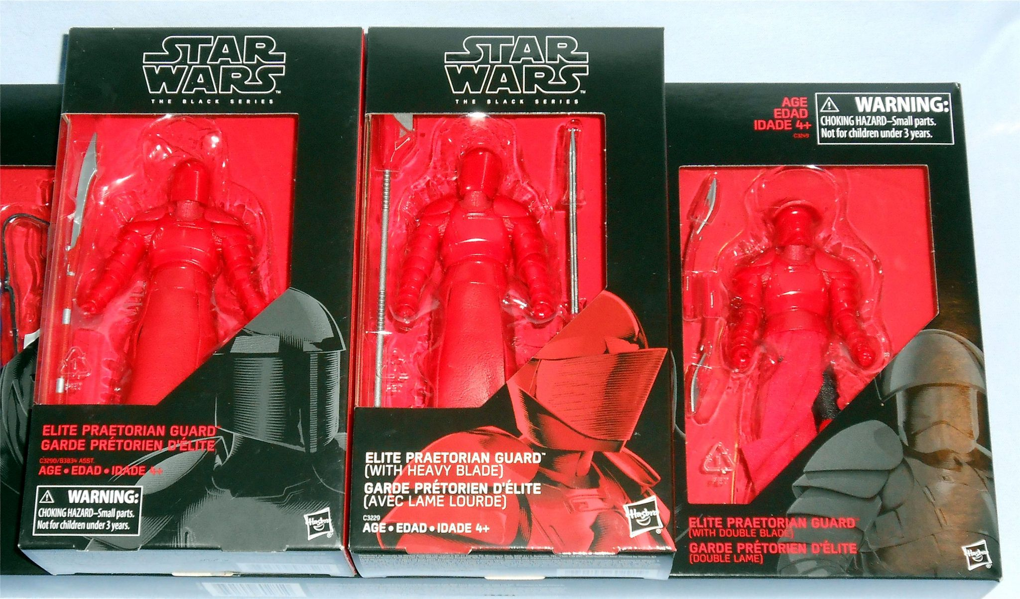 Star Wars The Black Series 4-Pack Set Guard Action Figure Gamestop Exclusive NEW