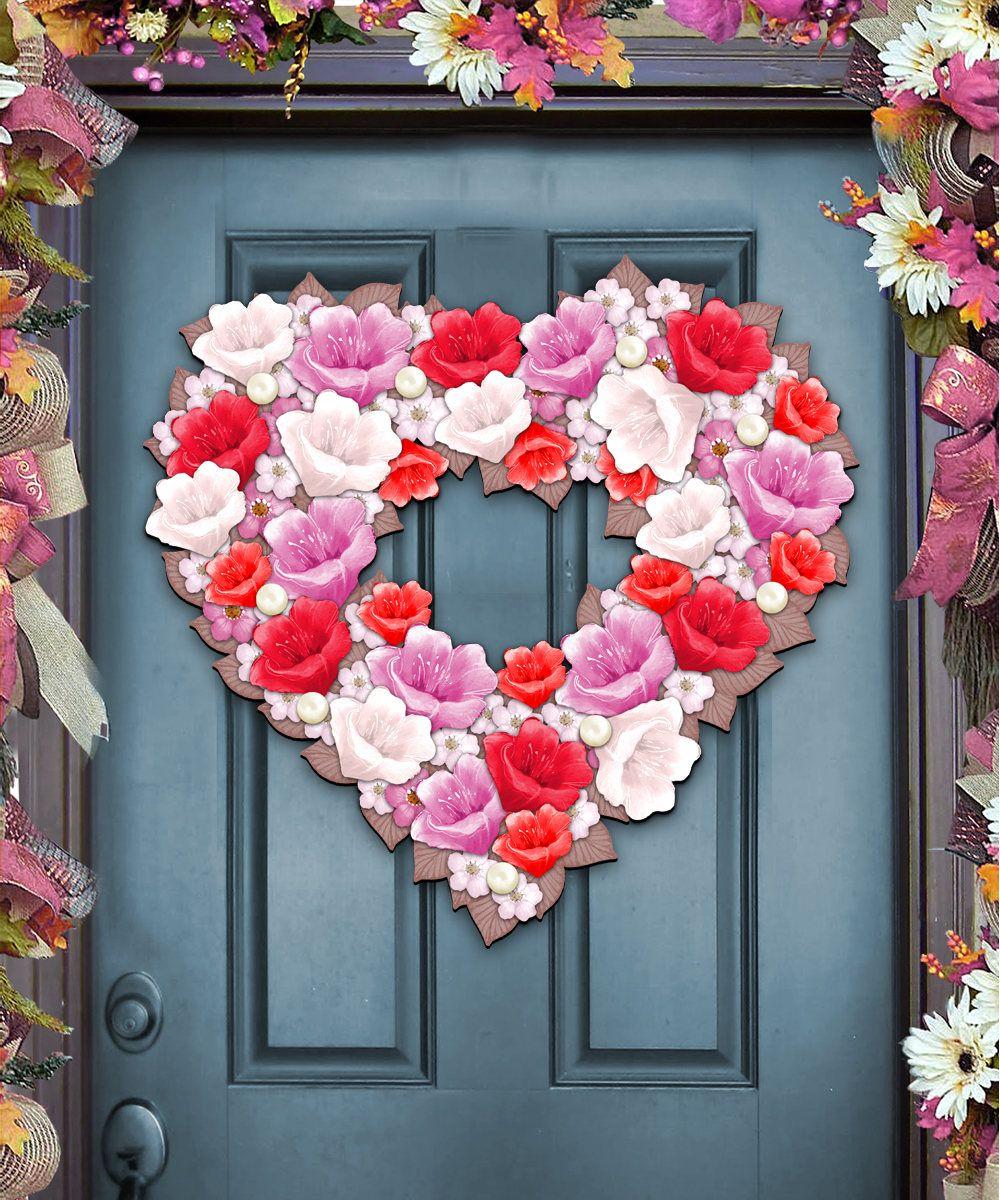 Valentine\'s gift - Valentine Heart Wreath Love Wedding Engagement ...