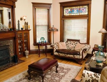 Beau Authentic Victorian Interior Design   Historic Styled Front Parlor