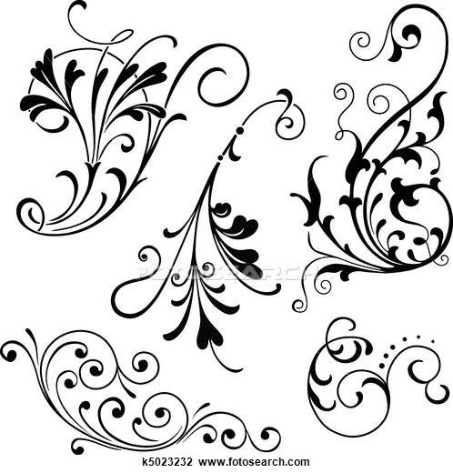 Filigree Illustrations And Clipart 13402 Filigree Royalty Free
