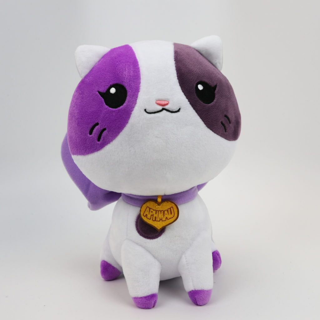6be77c3d01c5 Aphmau Cat Plush - Front   I want it SOOOO bad!