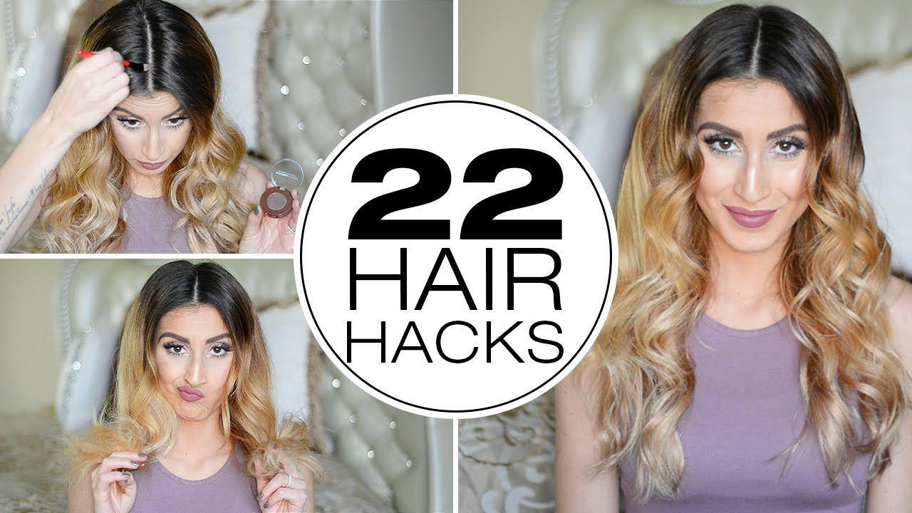 22 hair hacks for thin hair youtube hair hacks super