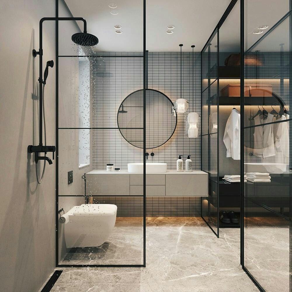 Modern Bathroom Inspiration Elena Sedova En 2020 Salle De Bain Design Salle De Bain Contemporaine Design Moderne De Salles De Bains
