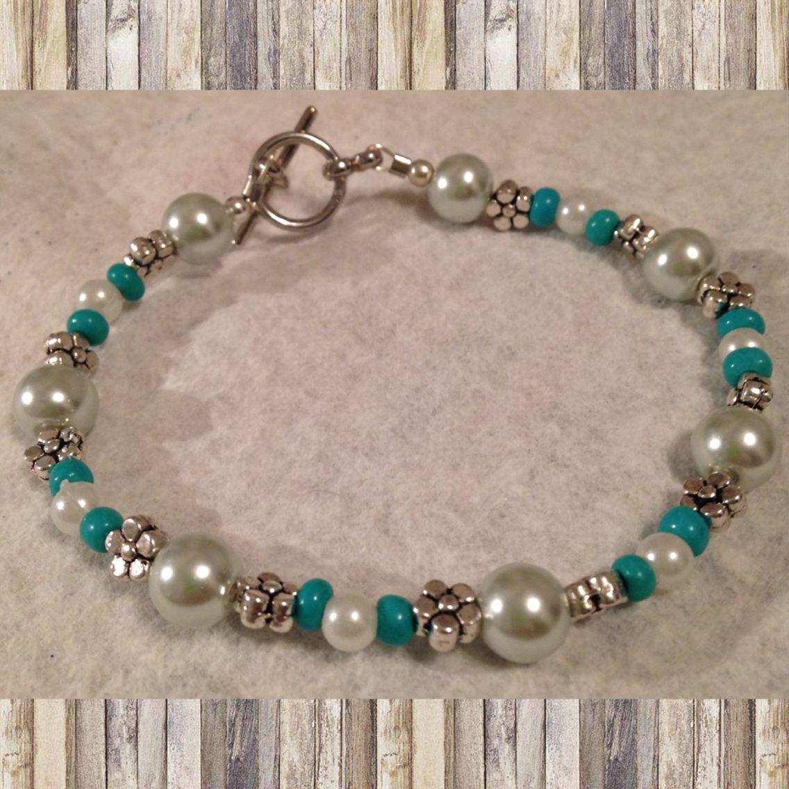 $15 beaded bracelet