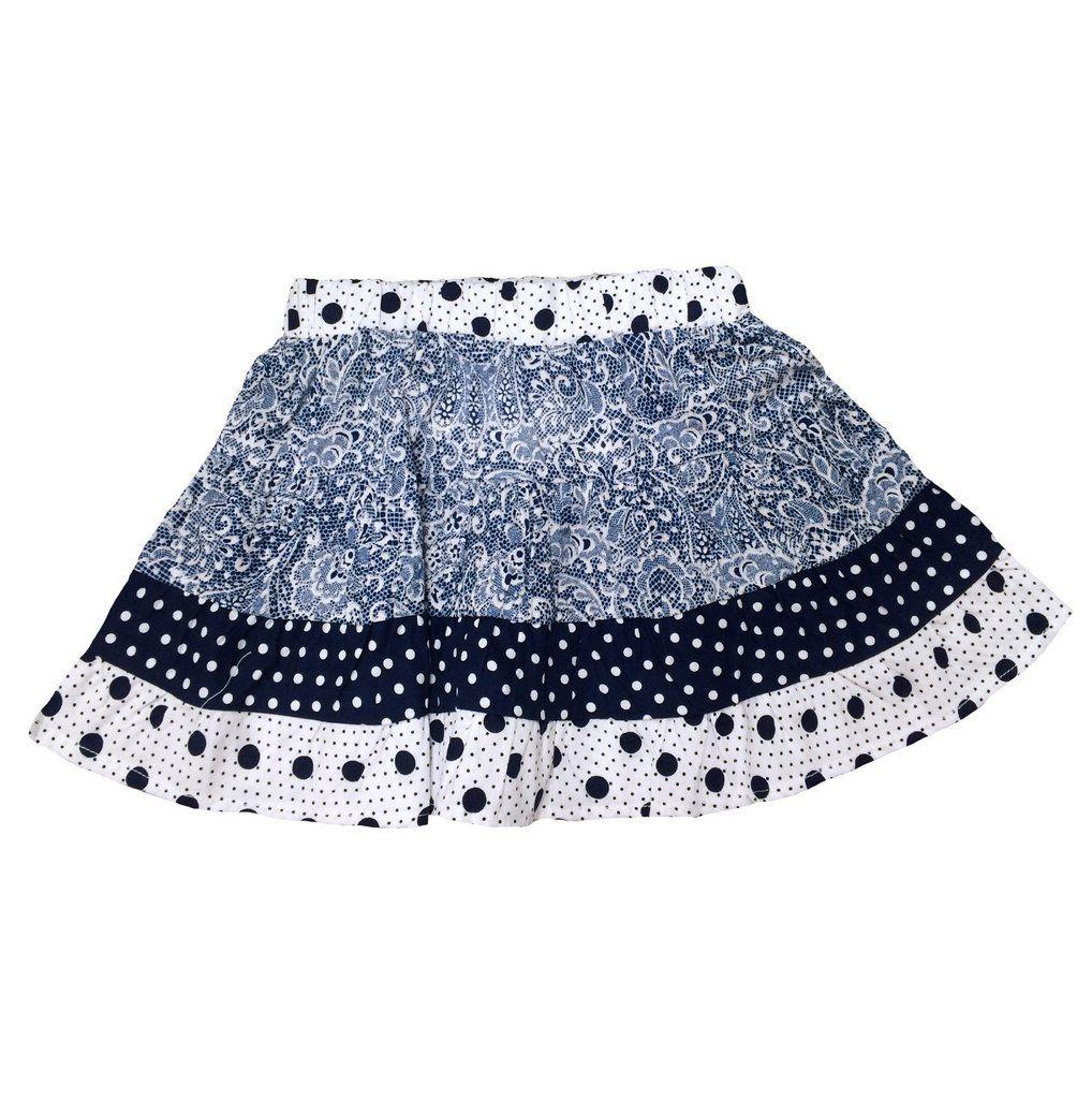 Linzi Rose Paisley Mix Skirt