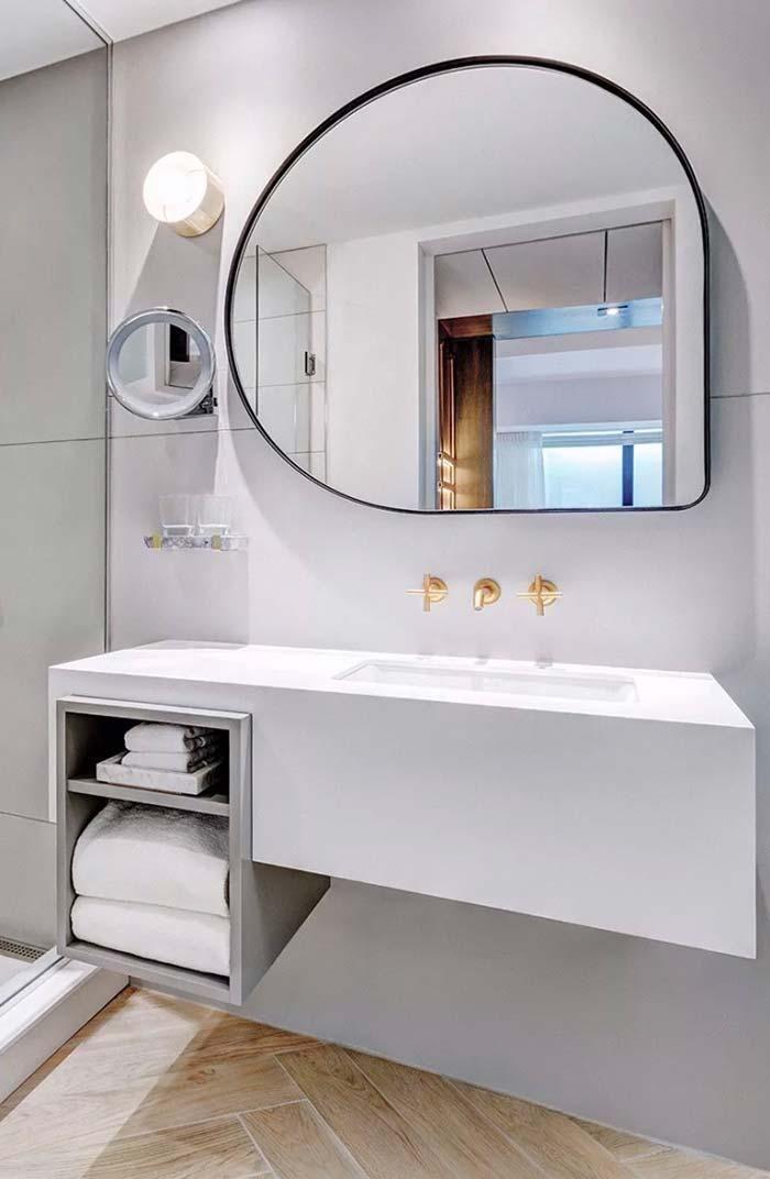 Ideale Größe Badezimmer   Badezimmerspiegel Tipps Zur Auswahl Des Idealen Modells Bathroom