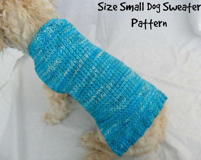 Cute Dog Sweater Knitting Pattern