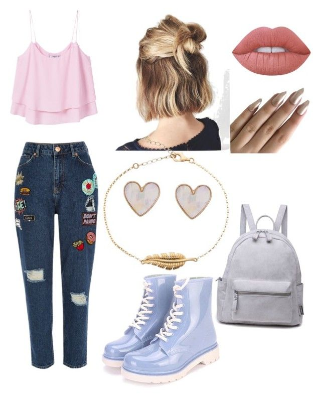 """Untitled #35"" by grace-annee on Polyvore featuring River Island, MANGO, Lime Crime and New Look"