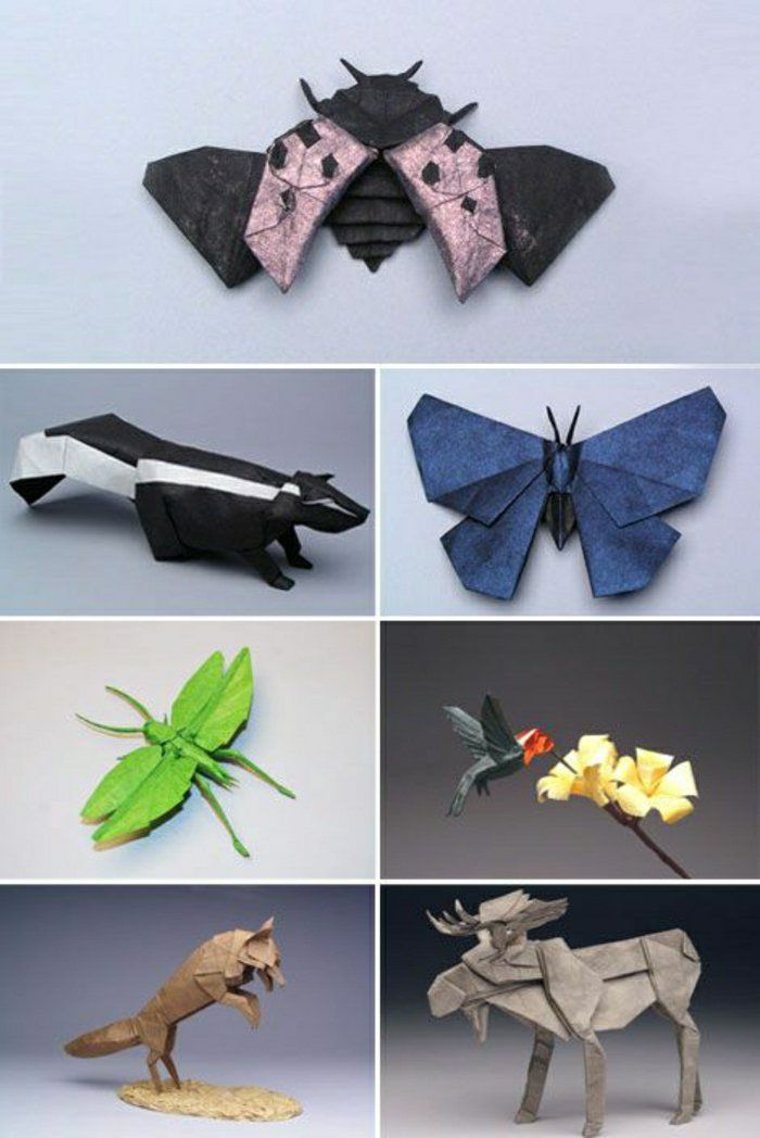 comment faire un origami 55 id es en photos et vid os origamis pinterest. Black Bedroom Furniture Sets. Home Design Ideas