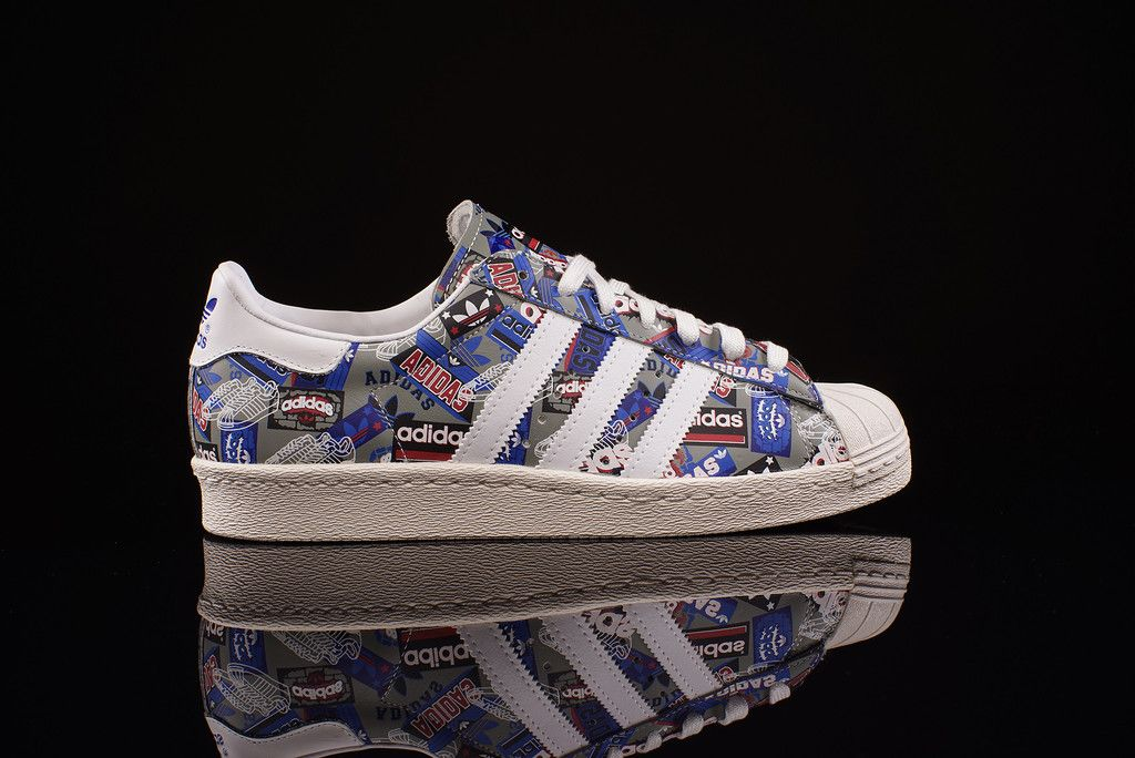 adidas Superstar 80s x NIGO | Adidas | Adidas, Sneaker