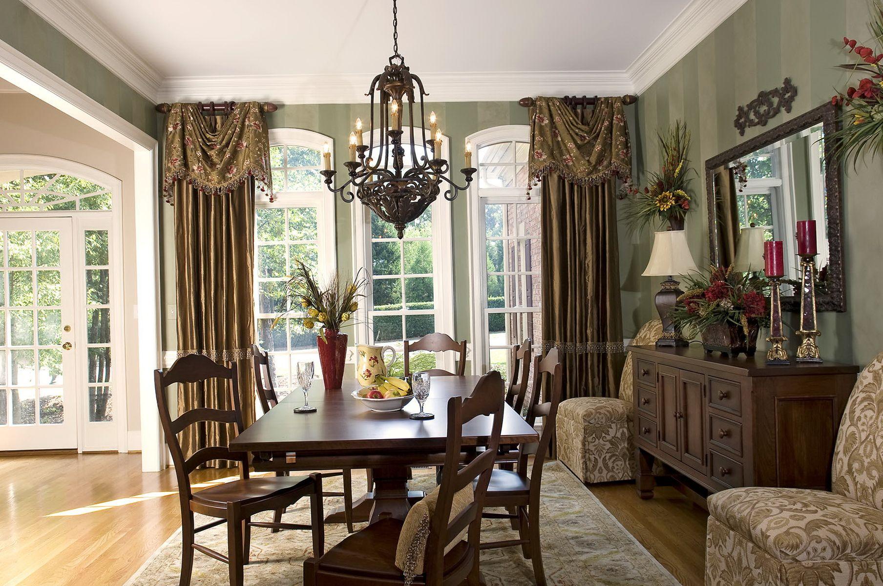 Formal Dining Room Curtain Ideas Dining Room Window Treatments