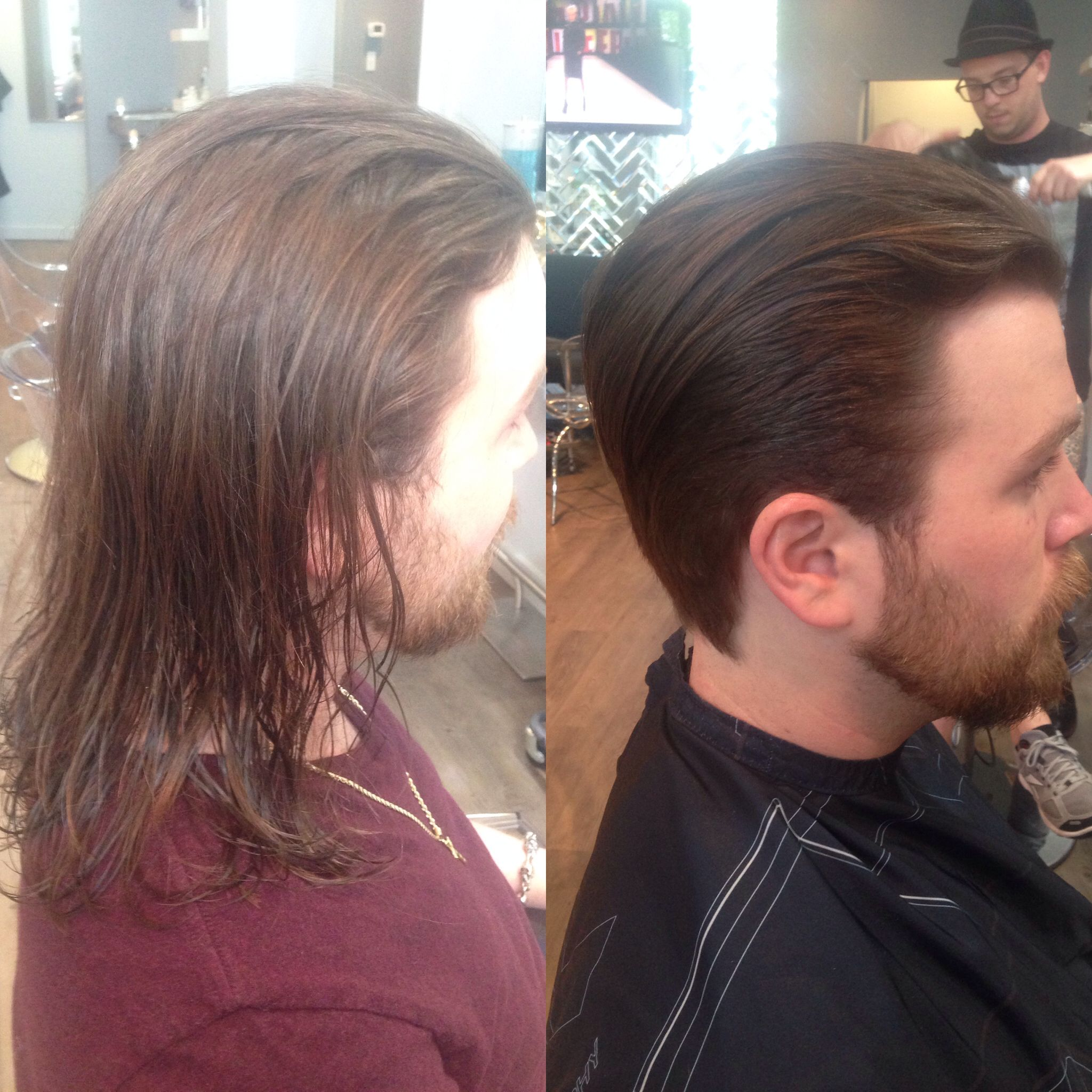 Pin By Garry Nelson On Hair I Ve Done Long Hair Styles Men Mens Hairstyles Short Long To Short Hair
