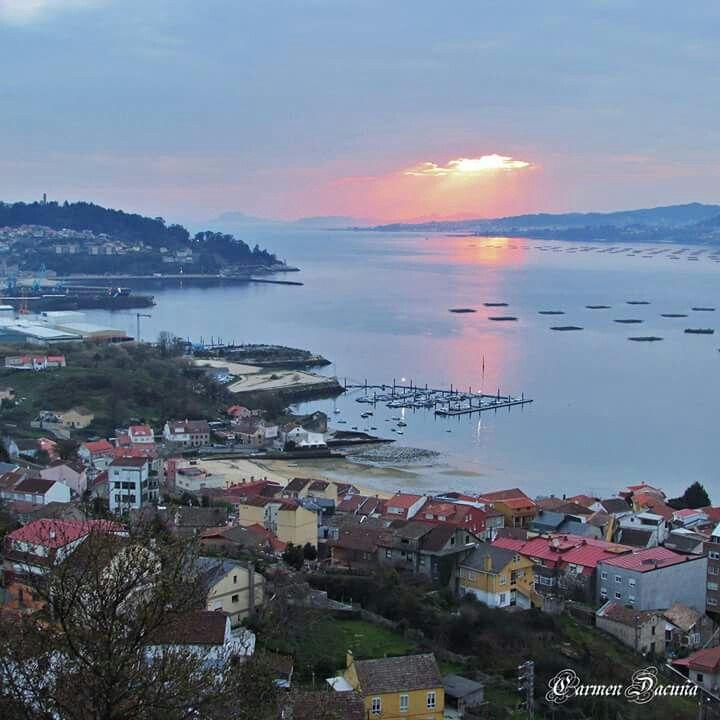 Atardecer En La Ría De Vigo Paisajes Lugares Para Visitar Turistico