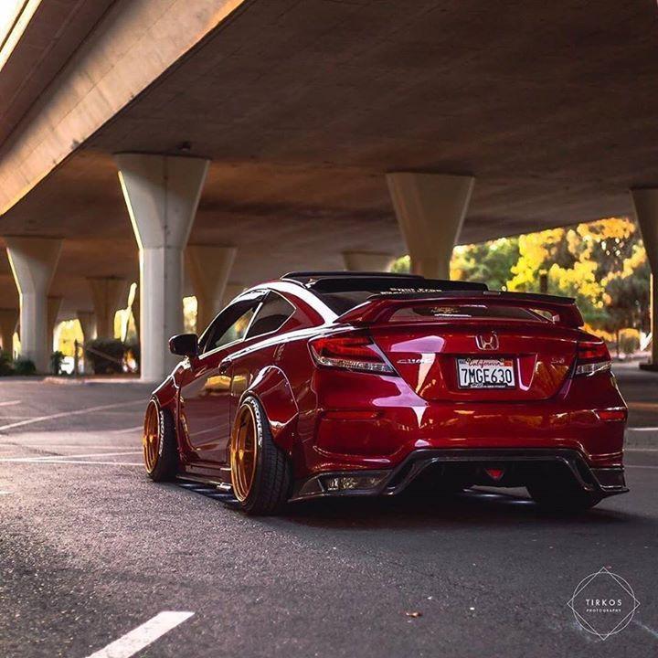 Beautiful #wheels #honda #civic #slammed Https://buff.ly