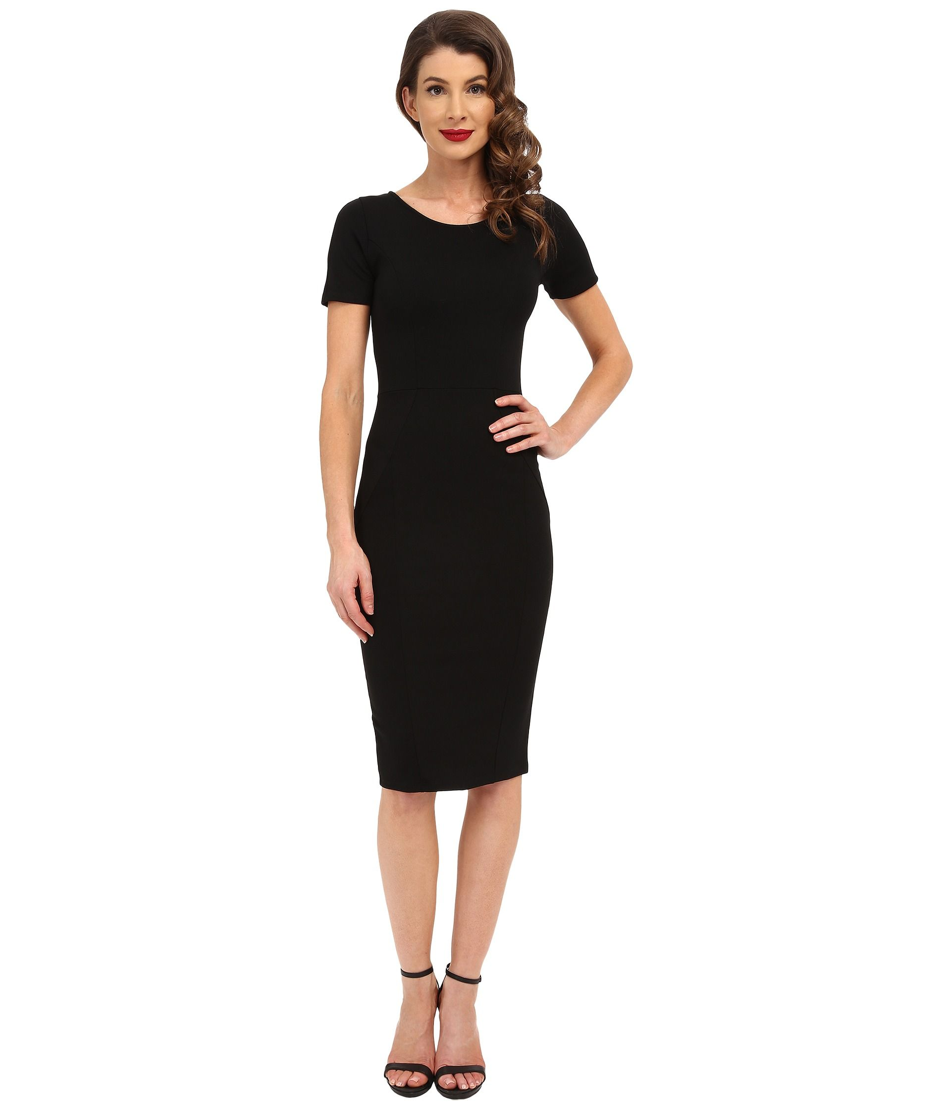 Unique vintage knit bodycon short sleeve mod dress at zappos