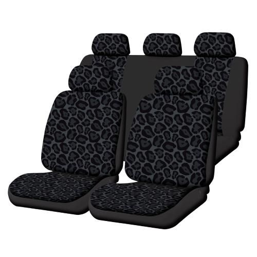 Masque Fun Stuff Jaguar Interior Makeover Seat Cover Kit 8 Piece 464709 Cute Car Accessories Car Accessories Girly Car