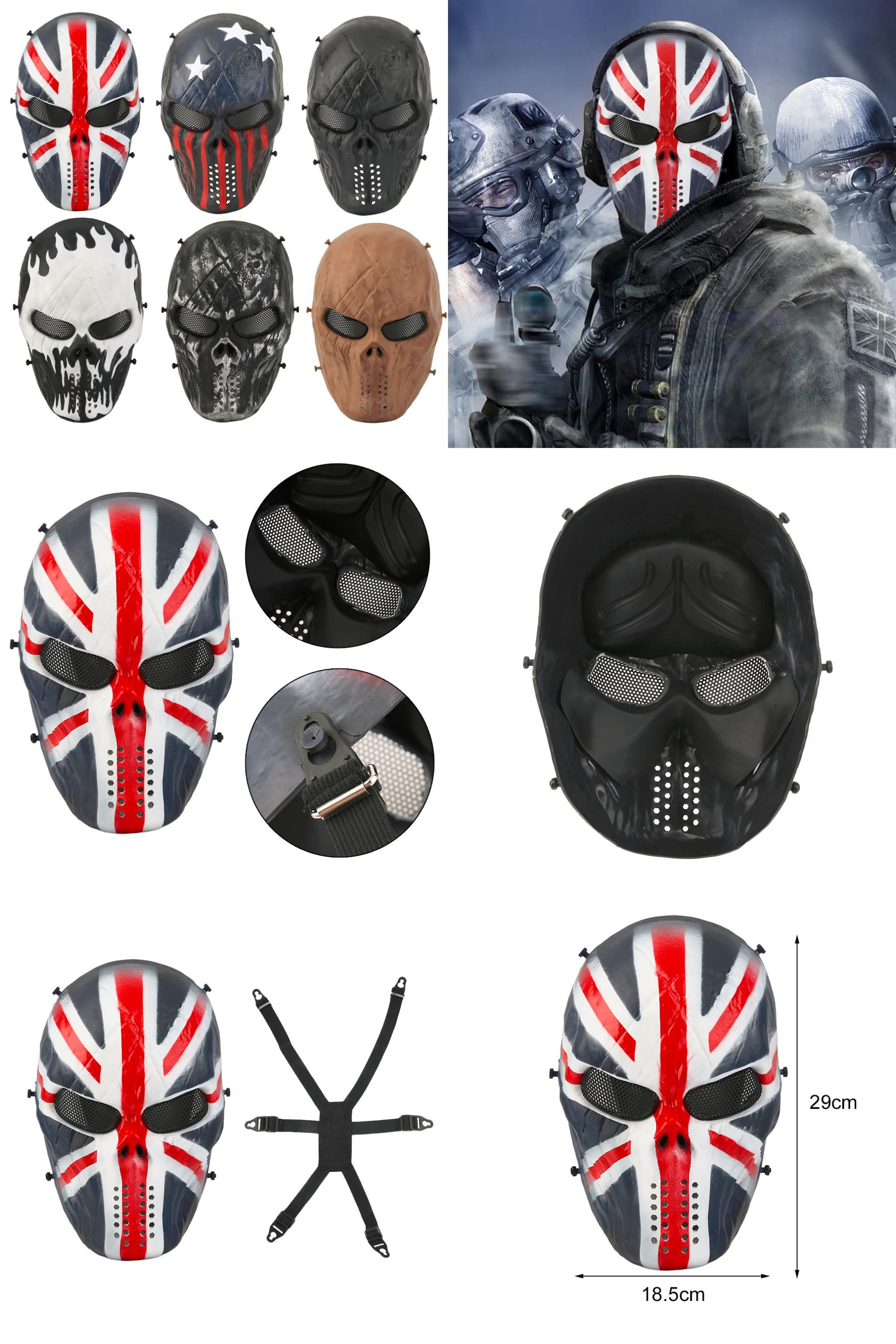 Visit to Buy] Typhoon Camouflage Hunting Accessories Masks Ghost ...