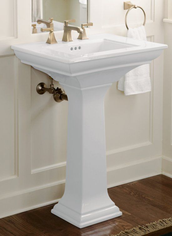 Kohler K 2344 8 Pedestal Sink Small Bathroom Sinks Sink
