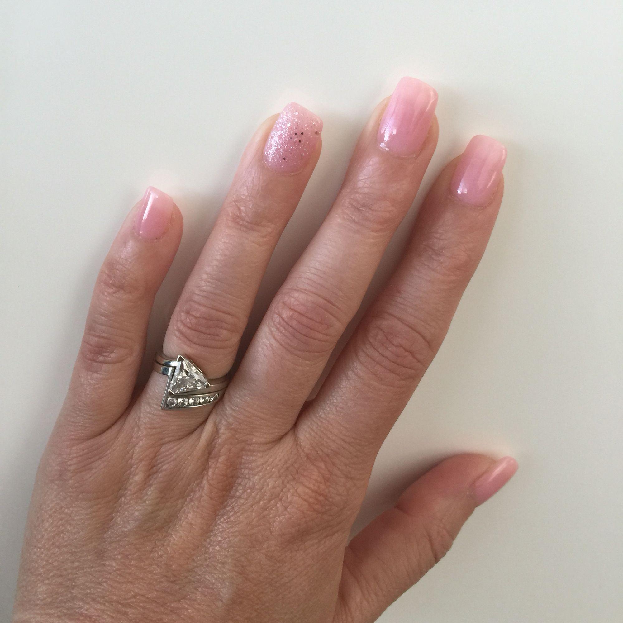 Light natural pink SNS | Nails | Pinterest | Natural, Sns powder and ...