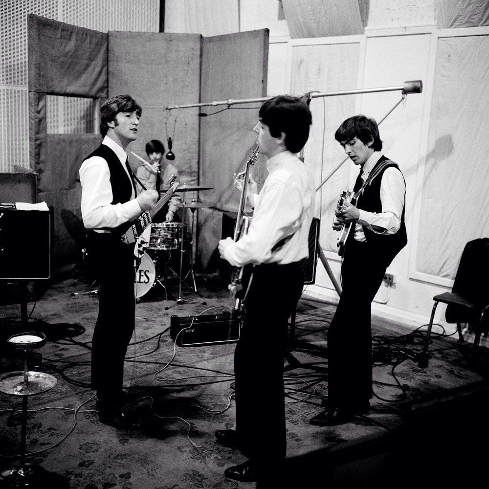 The Beatles On Instagram The Only Reason Paul Sang On A Hard Day S Night Was Because I Couldn T Reach The Notes The Beatles Beatles Photos Sean Lennon