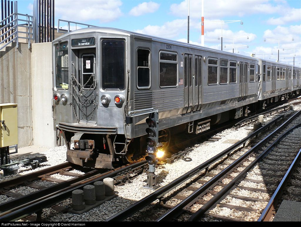 RailPictures.Net Photo: CTA 2206 Chicago Transit Authority Budd 2200 series at Chicago, Illinois by David Harrison