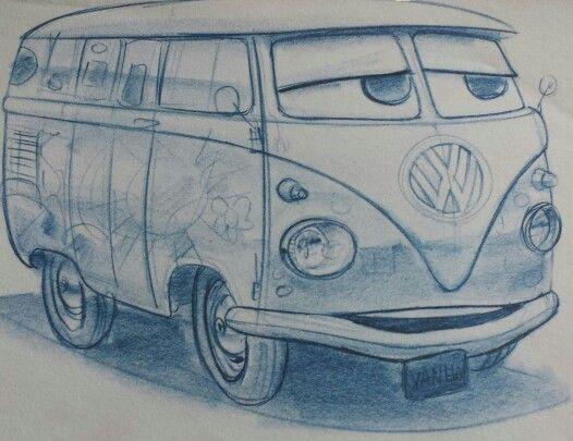 Cars Movie Concept Art