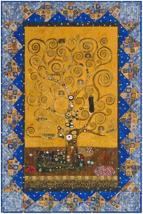 The Tree Of Life Free Pattern Robert Kaufman Fabric