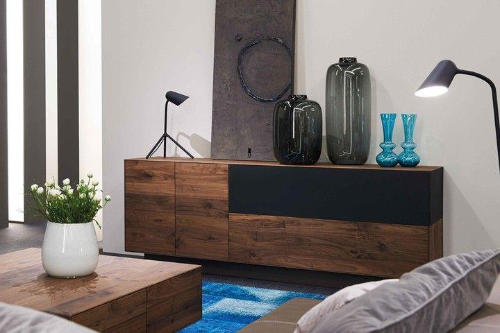 Wöstmann #Sideboard #Kernnussbaum #Holz - Möbel Mit wwwmoebelmitde - designer mobel materialmix
