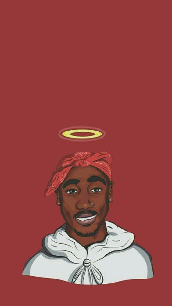 Pin by 𝚞𝚟 on 2Pac Tupac art, Rap wallpaper, Tupac wallpaper