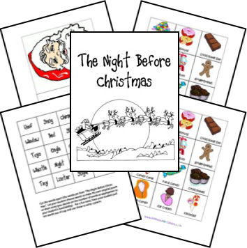 "1000+ images about ""Twas the Night Before Christmas on Pinterest ..."