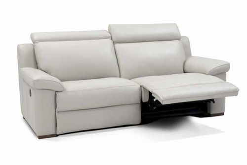 Traditional Leather Recliner Sofa Surano Incanto Group